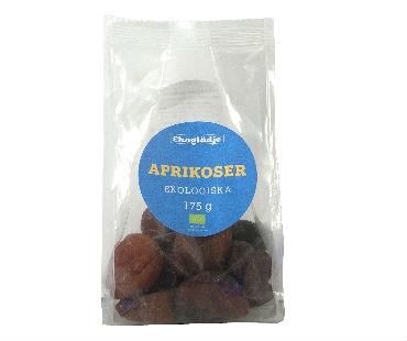 Aprikoser EKO, Ekoglädje. 175 g