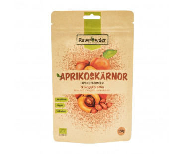 Aprikoskärnor Bittra EKO, Rawpowder. 150 g