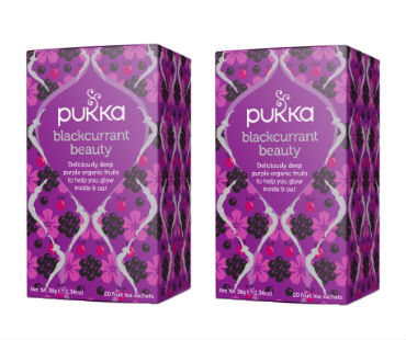 Pukka Blackcurrant Beauty Te EKO. 20 påsar, 2-PACK