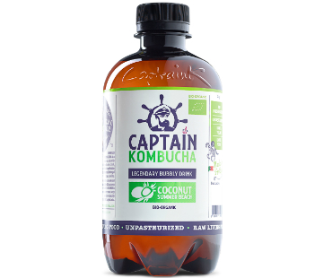Captain Kombucha, Coconut Summer Beach EKO. 400 ml