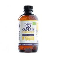 Captain Kombucha, Pineapple Peach Splash EKO. 400 ml - KORT DATUM