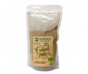 Carobpulver EKO, Biofood. 150 g