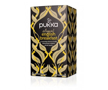Pukka Elegant English Breakfast Te EKO. 20 påsar