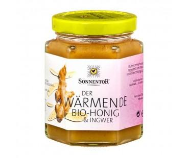 Honung med Ingefära EKO, Sonnentor. 230 g