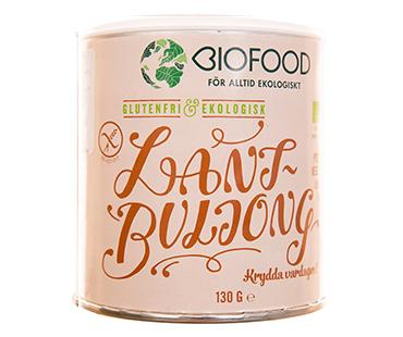 Lantbuljong EKO, Biofood. 130 g