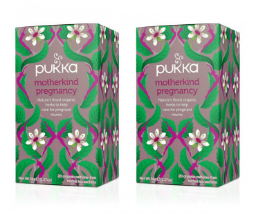 Pukka Motherkind Pregnancy Te EKO. 20 påsar, 2-PACK