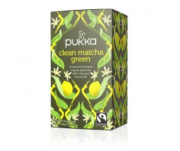 Pukka Clean Matcha Green Te EKO. 20 påsar