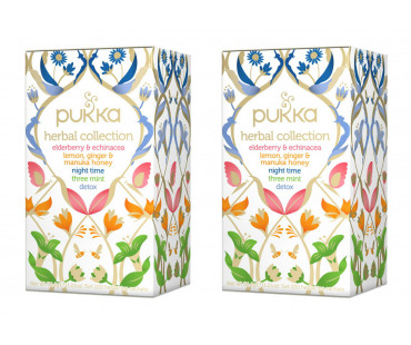 Pukka Herbal Collection Te EKO.  20 påsar, 2-PACK