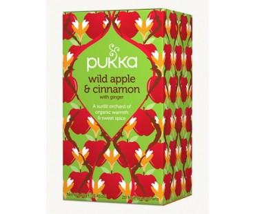 Pukka Wild Apple & Cinnamon Te EKO. 20 påsar