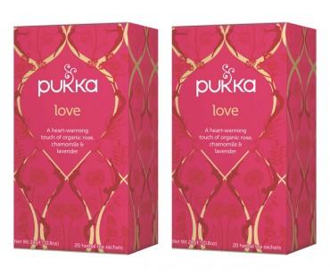 Pukka Love Te EKO. 20 påsar, 2-PACK