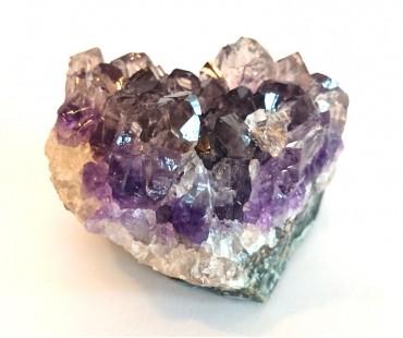 Ametist - Bergskristall i helt stycke - Energi