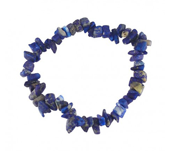 Lapis - enkelt armband - mineralsten - Styrka