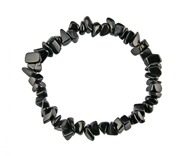 Onyx - enkelt armband - mineralsten - vid depression