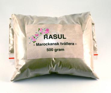 Rasul - Marockansk lertvål, pulver 500 g