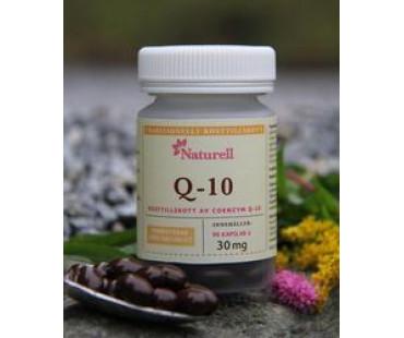 Q-10, Naturell. 30 mg - 90 kaps