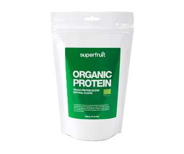 Ekologiskt protein Vegan, Superfruit. 400 g