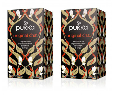 Pukka Original Chai Te EKO. 20 påsar, 2-PACK