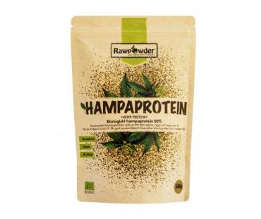 Hampaprotein 50% EKO, Rawpowder. 500 g
