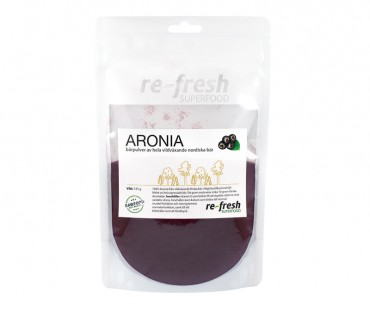 Aroniapulver, Re-fresh Superfood. 125 g