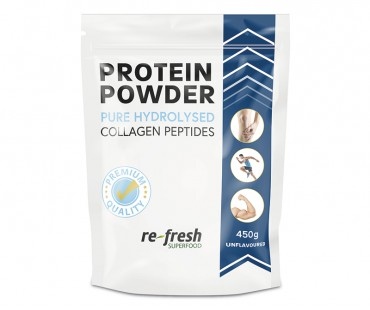 Collagen pure Premium powder, Re-fresh Superfood. Storpack 450 g