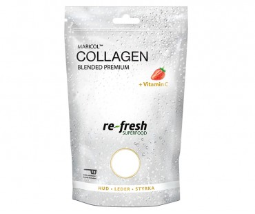Collagen Blended + Vitamin C, Re-fresh Superfood. 175 g