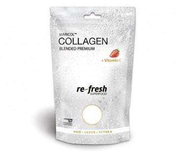 Collagen blended Premium powder, Re-fresh Superfood. 175 g