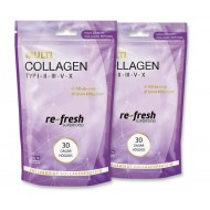 Multi Collagen, Re-fresh Superfood. 30 dagar högdos 2-PACK