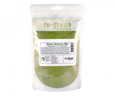 Green Balance Powder - megamix av gröna superfoods, Re-fresh Superfood 150g