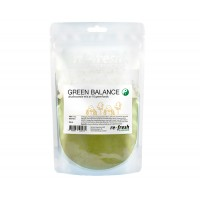 Green Balance Powder - megamix av gröna superfoods, Re-fresh Superfood 150 g - PASSERAT BÄST FÖRE