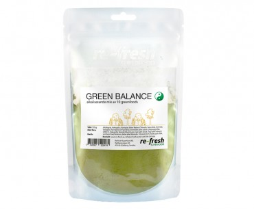 Green Balance Powder - megamix av gröna superfoods, Re-fresh Superfood 150g