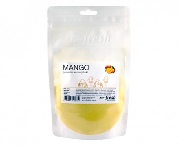 Mangopulver Superfood, Re-fresh Superfood. 150 g