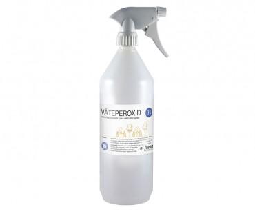 Väteperoxidspray 3%. 1000 ml - med sprayare