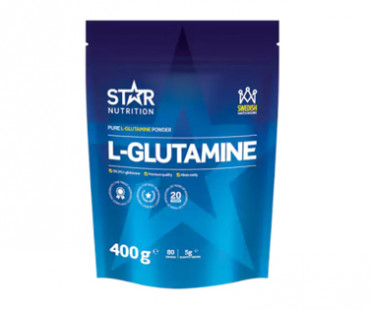 L-Glutamine Powder, Star Nutrition. 400 g