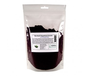 Aroniapulver, Re-fresh Superfood. 175 g