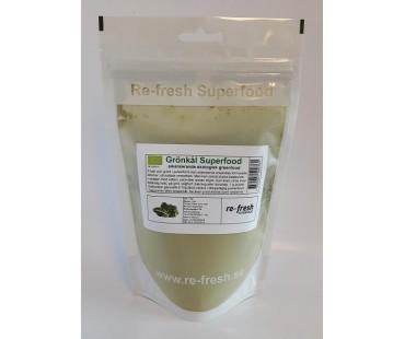 Grönkålspulver, Re-fresh Superfood. 150 g