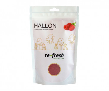 Hallonpulver, Re-fresh Superfood. 125 g