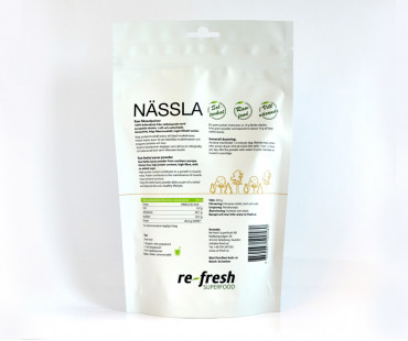 Nässelpulver, Re-fresh Superfood. 250 g
