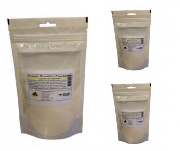 Passionfruktspulver Re-fresh Superfood. 150 g 3-PACK