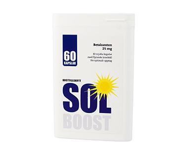 Solboost med lättupptagligt flytande betakaroten, Vidasal. 60 kap