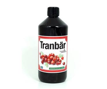 Tranbärskoncentrat osötad, Vidasal. 750 ml