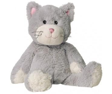 Warmies Värmedjur, Katt Ljusgrå - Lavendel